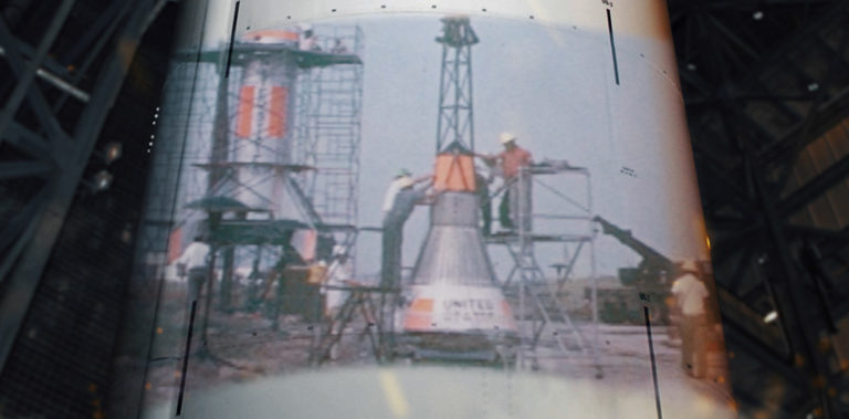 Stills from the short documentary Spaceport Somewhere
